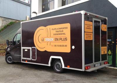 Habillage d'un food truck