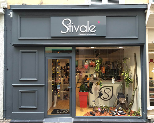 Enseigne Boutique Stivale